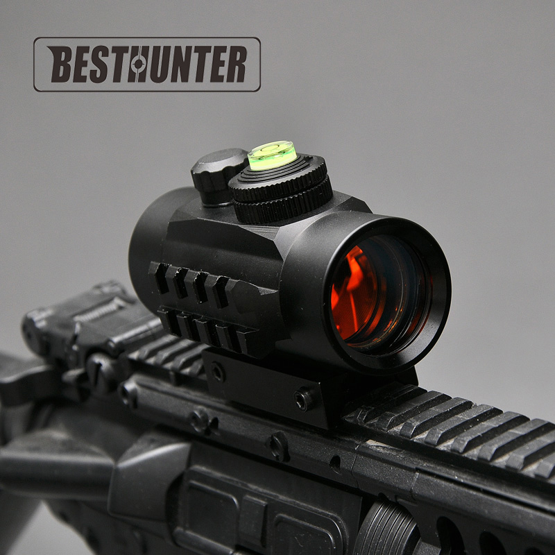 BUSHNELL Avcılık 1x30 Refleks Red Dot Sight Kapsam 5 MOA otomatik Parlaklık Ile Nokta Optik Kapsam 20mm Ray Fit Tüfek tabanca
