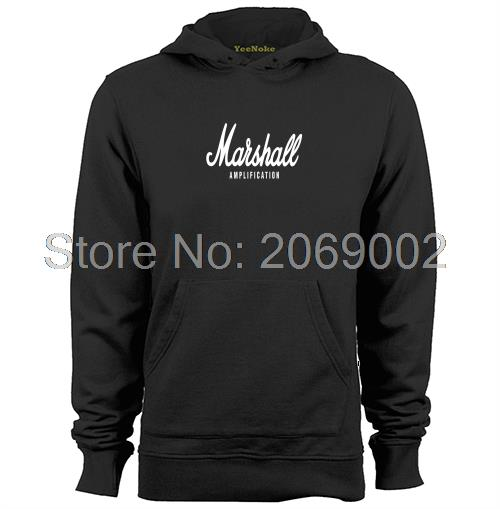 Amplication MARSHALL AMP Rock Band Metal Logosu Mens & Womens unisex Hoodies Coat